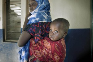 child, baby, mother, hospital, Mandera, Northern Kenya, government, print, prints, art, gallery, socio-documentary, photography, photographic